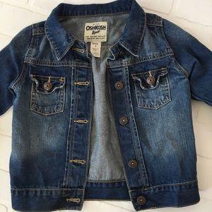 Oshkosh girls denim jacket 6